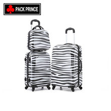 China supplier new horse printing decent travel polo trolley luggage set