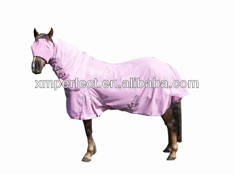 Pink mesh fly combo/horse rug