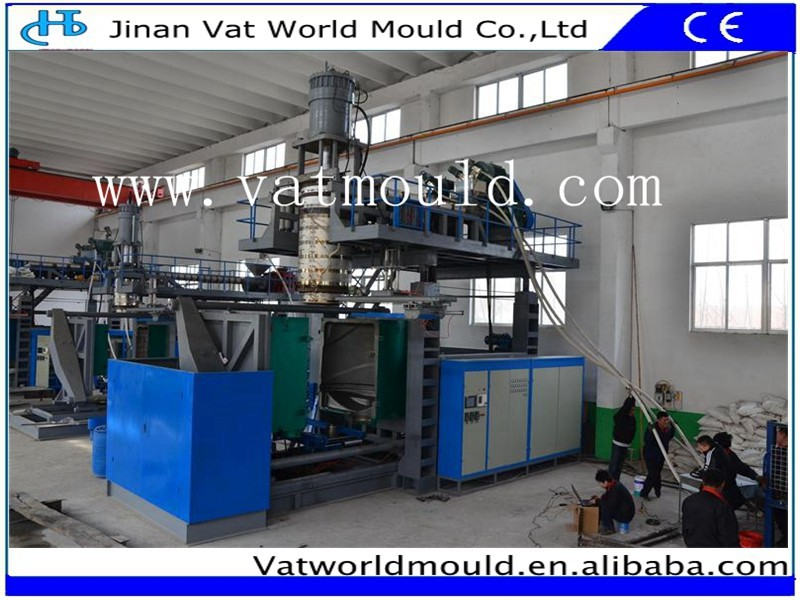 plastic material multi layers automatic supe size water tank blow making mould machinery
