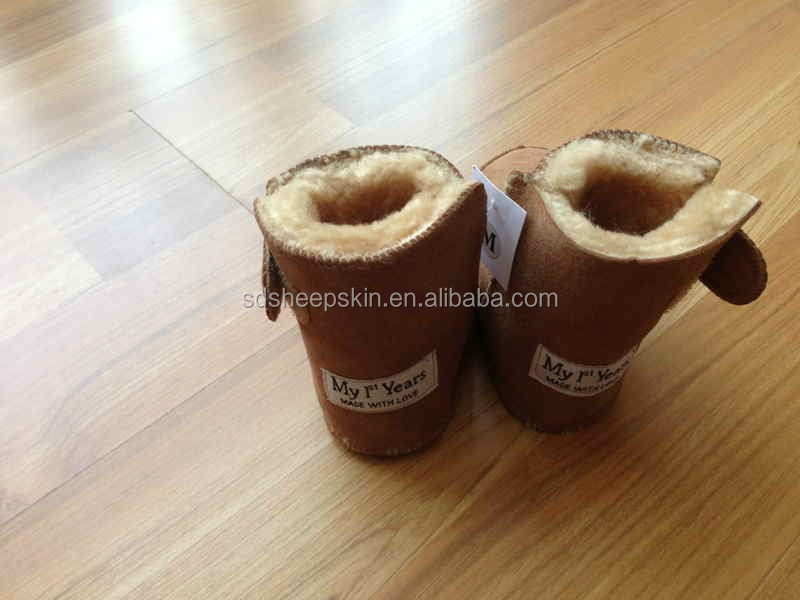 Hot Sheepskin Baby Boots Baby Shoe boots baby products