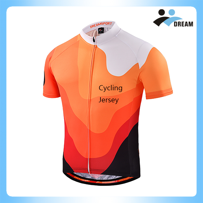 DREAM SPORT 2017 Sublimation Printing wholesale Cycling Wear Riding Suit Bicycle Jersey