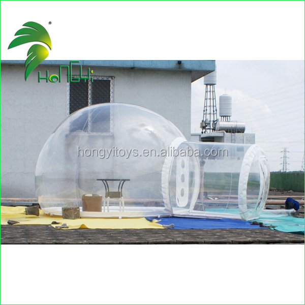 PVC Inflatable Clear Dome / Inflatable Igloo Tent