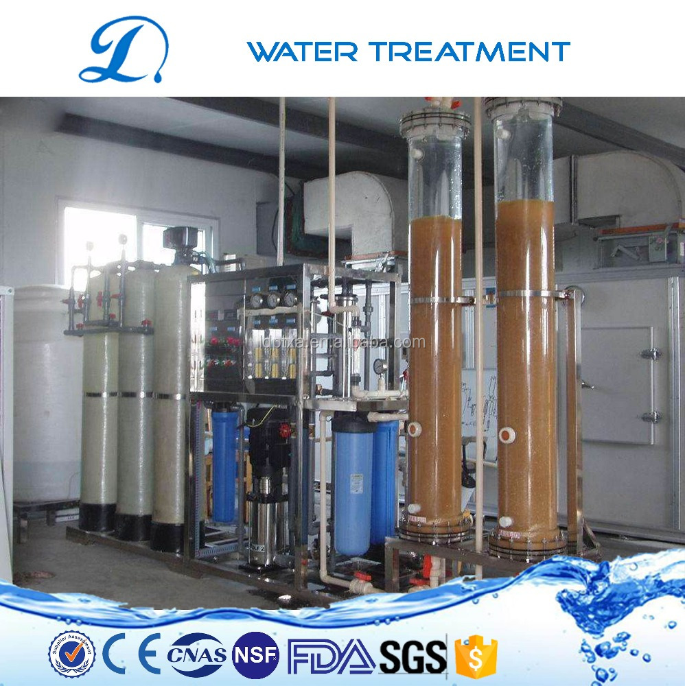 Low cost LDWT5001 ro water treatment ionizer equipment to remove some specific ion of well water