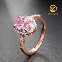 Cabochon simgle stone gold finger ring rings design for women with price