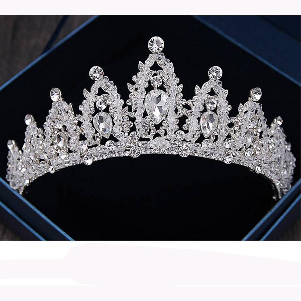 pageant crowns tiara for decoration bridal hair accessories wedding party jewelry crown tiara with pearls for women with super <strong>q</strong>