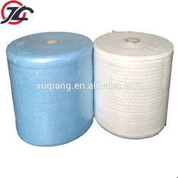 Cross Style and Viscose/Polyester Spunlace Nonwoven Fabric for Disposable Wet Wipe