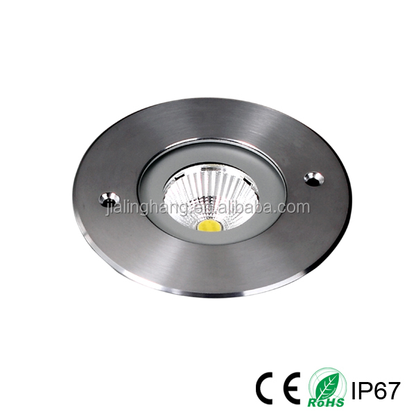 Waterproof COB 10W Recessed Edison Led Outdoor Paver light in Concrete