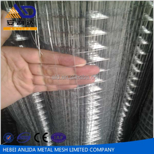 Hot Dipped Galvanized Welded Wire Mesh , 1/2 Inch Mesh Hole, 18,20 & 22 Gauge Wire