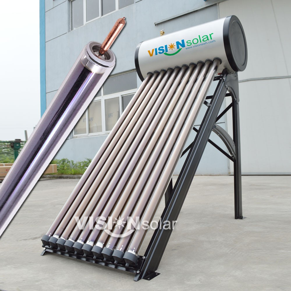 Vision solar company exporing high advantages of solar energy water heater