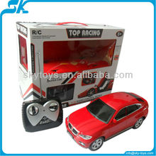 1:18 Scale rc remote control licensed R/C On-Road Car X6 2012 hot sale