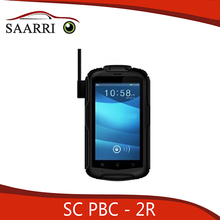 Professional Soldier Body Equipped Video Recorder, Built-in WCDMA Wi-Fi and 3G (2.4G/5.8G) Communication Module, SC PBC-2R