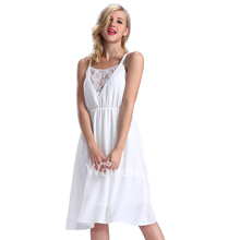 Hot Sales Sleeveless Knee Length White Color Different Designs Cheap Ball Chiffon Dresses
