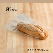 Food Grade FDA Certified Clear opp Plastic Film Bag with Micro-perforated for Packing Bread-250pcs on Wicket,1000pcs/Case