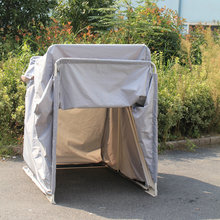 Fashionable Outdoor Motorcycle Shelter Cover/Mobile motorcycle cover at factory price