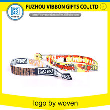 charming personalized woven fabric bracelet