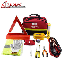 24 pcs Auto Roadside Repair Tools Set Car Emergency Road Assistance Kit