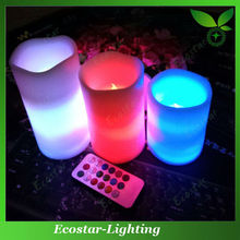 Fashion LED Candles Flameless Remote Controlled LED Candles
