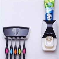 Convenient Touch N Brush, Automatic Children Toothpaste Dispenser With tooth brush holder