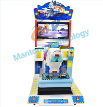 3D Street moto racing video game for kids coin operated arcade machine