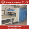 low price printer slotter die cutting machine, corrugated cardboard 4 colors printer&slotter&rotary die cutter