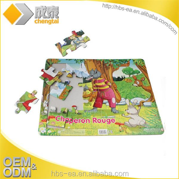 Children's paper toys, High quality build 3d paper mode puzzle jigsaw car printing