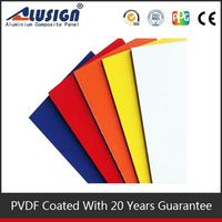 Alusign Colorful design acp decorative wallboard panels