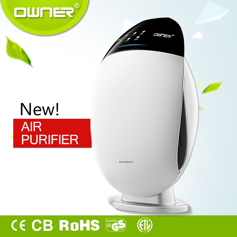 Quiet Breeze Air Purifier Negative Ionic Air Cleaner auto air freshner for Home Office Room and UK online shopping