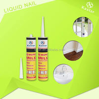 Kastar new product Crystal plate nail free bond adhesive with RoHS approved
