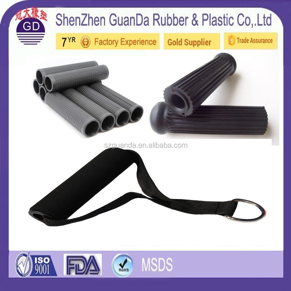 Round Smooth Rough Handle Foam Rubber Tube / Children Scooter Foam Grip / Soft Bicycle Foam Grip Handle
