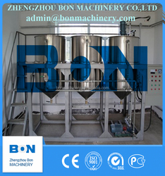hot selling 15kg/h output high efficiency small coconut oil refinery machine