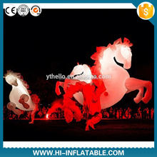 NEW!!! event/party/stage/club/outdoor performance decoration inflatable horse costume walking/costume/mascot