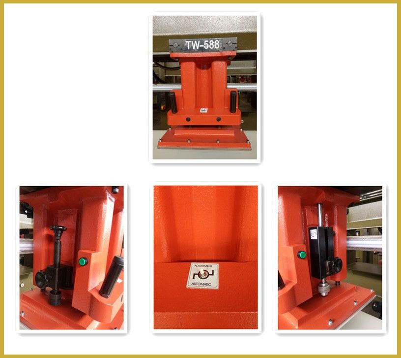 ATOM model travelling head cutting press/clicking press/clicker press