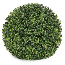 High Quality Artificial Topiary Grass Plastic Boxwood Ball