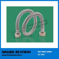 Stainless Steel flexible hose with brass fittings