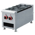 Wholesale commercial stainless steel gas range 2 burner, gas stove BN-2T