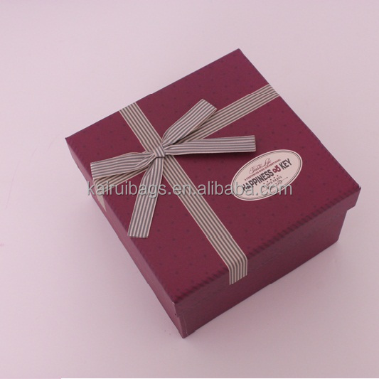 Plain Cardboard Gift Boxes Clear Lid
