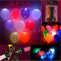 2015 Christmas gift Led Flash Hellium balloon Christmas Birthday Wedding Decoration Light