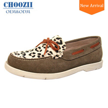 Guangzhou Manufacturers Loafer Shoes Ladies Flat Moccasins