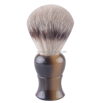 synthetic hair Beard Shaving Brush European syntheti hair shaving brush factory