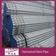large diameter galvanized welded steel pipe for greenhouse