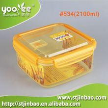 air tight china seal tight hermetic plastic food container