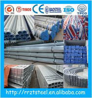 hot dipped galvanized steel conduits/hot dip galvanized steel scaffold tube size