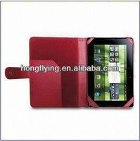 Leather Tablet PC Case for RIM's BlackBerry PlayBook, Various Colors Available