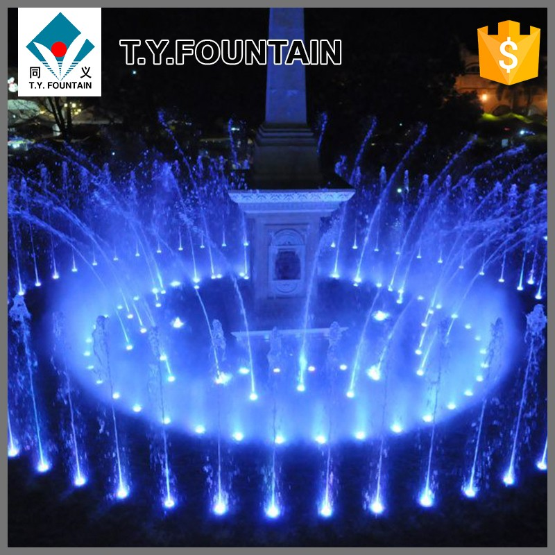 Large Music dancing Water Fountain Show on Lakes Stainless Steel Pump
