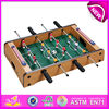 Hot sale wooden toy table football for children W11A026-A1