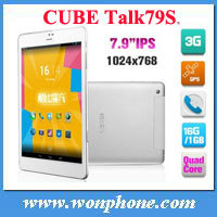 7.9 inch Cube U55GTS Talk 79S Android 4.2 MTK8312 Dual Core Touch Screen Tablet PC Bluetooth GPS Wifi 3G Phone Tablets MID