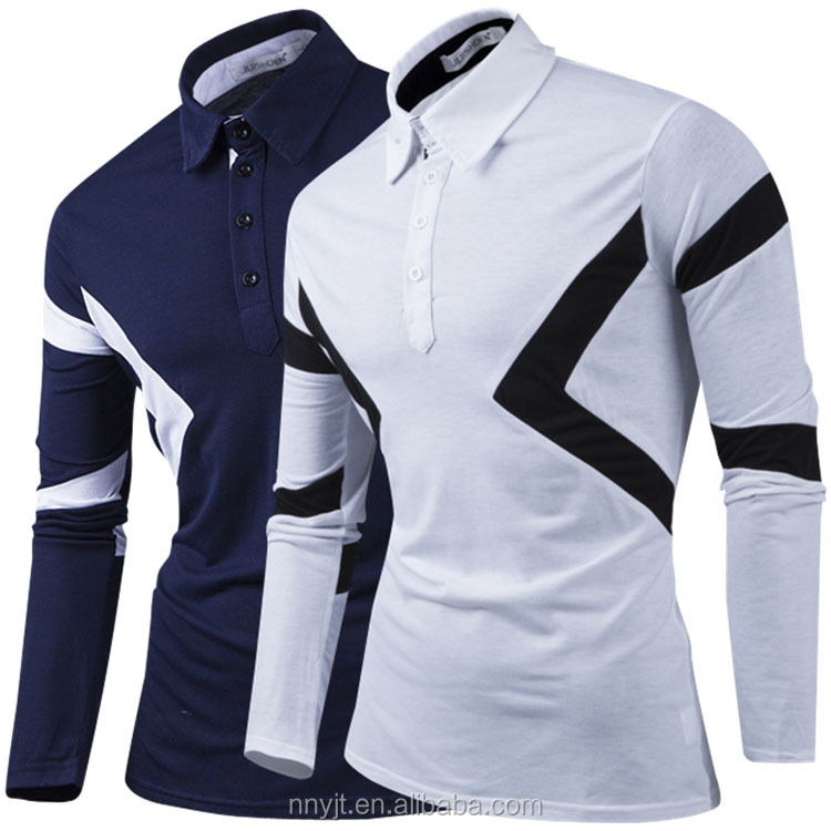 Fashion Sports Dri Fit Long Sleeve Polo <strong>Shirt</strong> for Men