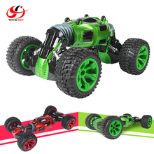 TOYSKY 1:10 RC Stunt Car Rechargeable Battery Double Side Racing Speed Car