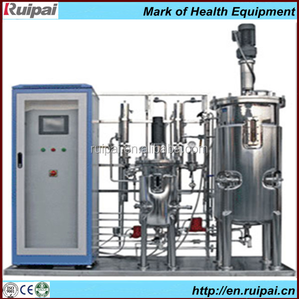 Stainless steel mini medical fermentation equipment used for dairy / beer