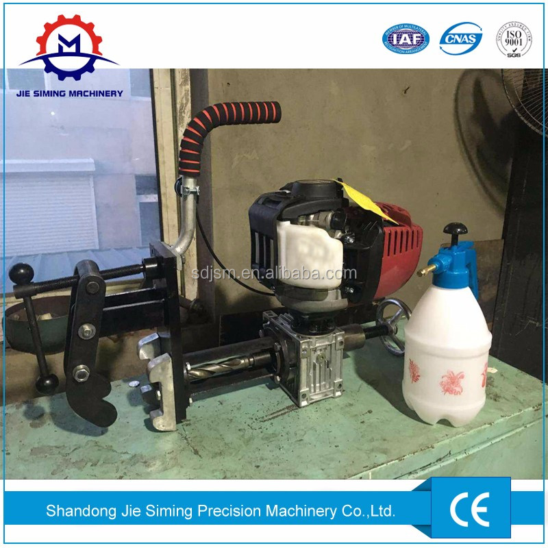 Railway use petrol engine rail drilling machine with low price